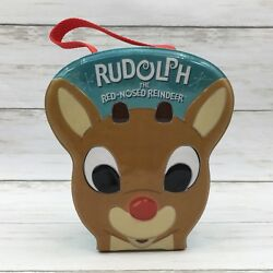 2003 Carlton Cards Rudolph The Red Nosed Reindeer Ornament Set Santa Misfit Toys
