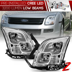 [COB LED Bulbs Low Beam] 06-09 Ford Fusion Factory Style Replacement Headlight