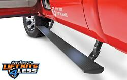 Amp 76235-01a Blk Powder Coated Powerstep Running Boards For 17-19 Ford F-250 Sd