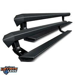 Amp Research 77235-01a Black Powder Coated Powerstep Xl For 17-19 Ford F-250 Sd