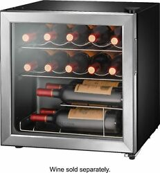 Insignia- 14-bottle Wine Cooler - Stainless Steel