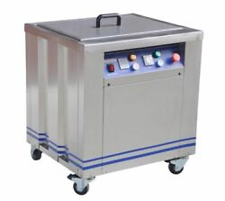 Heavy Duty Fabricated 50l Tank Efficient Heating Strong Power Ultrasonic Cleaner