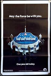 Star Wars Original Movie Poster Happy Birthday Style (27