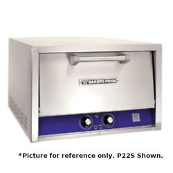 Bakers Pride P24-bl Brick Lined Electric Countertop Bake And Roast Oven