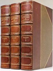 Rare 1912 1stED The Pioneer Mothers Of America Boone Indians Illustrated Leather