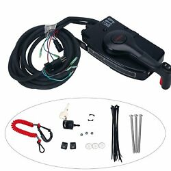 Mercury Marine Side Mount Remote Control Box 15ft Cable 8 Pin fr Outboard Engine