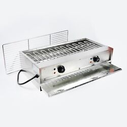 Yse 220v Electric Barbecue Oven Tabletop Charbroiler Grill Machine Smokeless Bbq