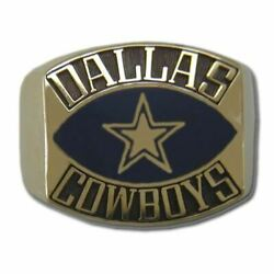 Dallas Cowboys Contemporary Style Goldplated Nfl Ring