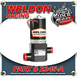Weldon Racing 2345-a High Performance Fuel Pump Up 1400 Hp To 2400hp Plus
