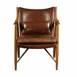 Home Fare Anderson Wood Frame Arm Chair