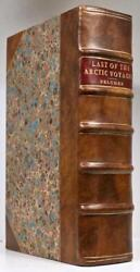1855 1stED The Last of the Arctic Voyages Belcher Fine Leather Color Plates Rare