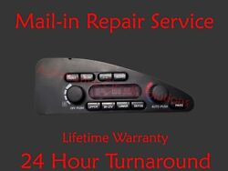 94-96 OLDSMOBILE 98 88 DIGITAL CLIMATE HEATER AC CONTROL Repair Service