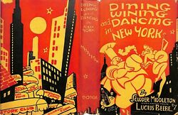 Dining Wining And Dancing In New York 1938 By Scudder Middleton