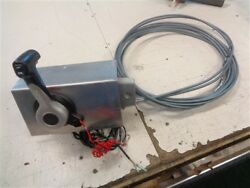 Yamaha Shift And Throttle Control Box W / 22and039 Cables 161412 Marine Boat