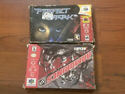 Armorines Project And Perfect Dark Nintendo 64 New