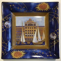 Nwb Patek Philippe Limoges French Porcelain Dish Plate Tray Bowl 2014 Collection