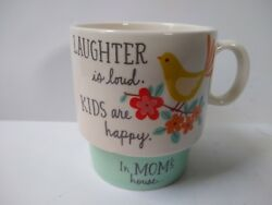 Hallmark Coffee Mug Laughter is Loud Kids are Happy In MOM#x27;S House