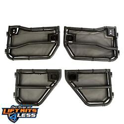 Rugged Ridge 11509.26 Front/Rear Eclipse Covers Tube Kit for 07-18 Jeep (JK)