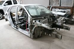 2009 - 2012 Audi Q5 Front Right Body Frame Horn Rail Ice Silver Paint Lx7w