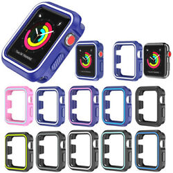 For Apple Watch Series 4 Silicone TPU Bumper Case Cover iWatch Protector 4044mm