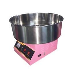 Asg 1300w Electric Commercial Cotton Candy Maker Stainless Steel Automatic 110v