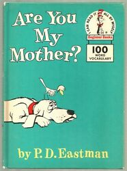 Vintage Children's Dr. Seuss Beginner Book ARE YOU MY MOTHER? PD Eastman