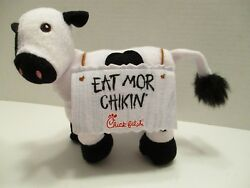 Chick Fil A Plush Cow Eat More Chicken Sign Plackard 7 Inch 2017