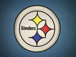Rare Steelers Large Iron On Hipster Jacket Hoodie Back Patch Diy Crest 041l