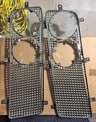 1964 Imperial Chrome Grill Left And Right Sides - Excellent Condition 2417776 And 7