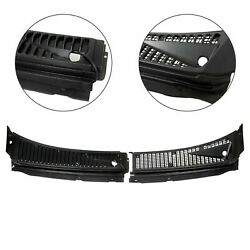 Windshield Wiper Vent Cowl Screen Cover Panels Kit For Ford F250 F350 Excursion