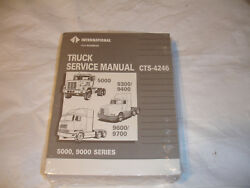 International Truck 5000 Series Paystar 9300 9400 9600 9700 Service Shop Manual