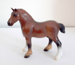 Breyer Stablemate Bay DrafterVaulting from JCP Parade of Breeds 2011