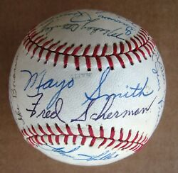 Detroit Tigers 1970 Signed Ball - 1968 World Series Champs17 +13 More Sigs