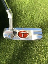 """Scotty Cameron GSS Masterful 009 Super Rare Circle T Weld Putter.  34"""" And 350G"""