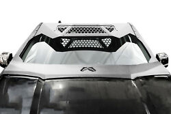 Fab Fours Vc4500-1 Vicowl Roof Visor - Fits 15-19 Ford F-150
