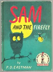 Vintage Children's Dr. Seuss Beginner Book SAM AND THE FIREFLY Gus PD Eastman