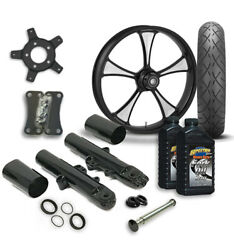 Rc 21 Crank Wheel Tire And Complete Eclipse Front End Package Harley 14-19 Flh