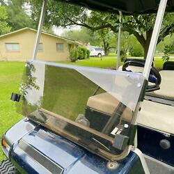 Tinted Windshield For Club Car Ds 1982-2000.5 Folding Style Pc Golf Cart Part