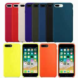 Soft Silicone Case For iPhone7 8 7 8Plus Cover