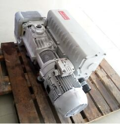 Leybold Sv300b Single Stage Rotary Vacuum Pump, Working With 3 Month Warranty