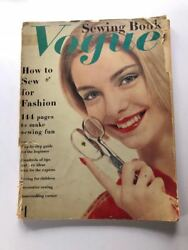 1958 Vogue Sewing Book Magazine 144 Pages Of Vintage Fashion / Instructions