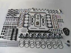 Deluxe Engine Rebuild Kit 1958 Cadillac 58 With 365 V8 New Pistons Valves