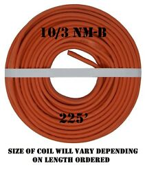 10/3 Nm-b X 225' Southwire Romex® Electrical Cable