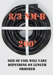 8/3 Nm-b X 200' Southwire Romex® Electrical Cable