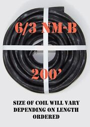 6/3 Nm-b X 200' Southwire Romex® Electrical Cable