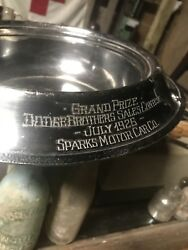 1926andrsquo Dodge Brothers Sparks Motor Car Co. Trophy Rare - Wilcox Silver - Maker
