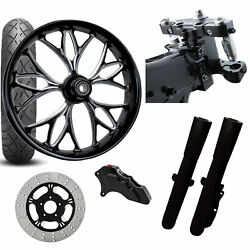 Rc 26 Kore Eclipse Wheel Tire Neck Rake Front End Package Harley Single Side