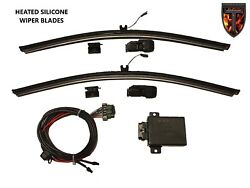 2 - 22 Heated Silicone Winter Wiper Blades Thermalblade 03 + Freightliner M2