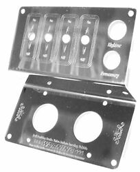 Gg Control Panel For Peterbilt Lighter Tractor/trailer 4 Switch Stainless 68331