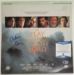 Aidan Quinn Signed At Play In The Fields Of Lord Laserdisc Cover Beckett Bas Coa